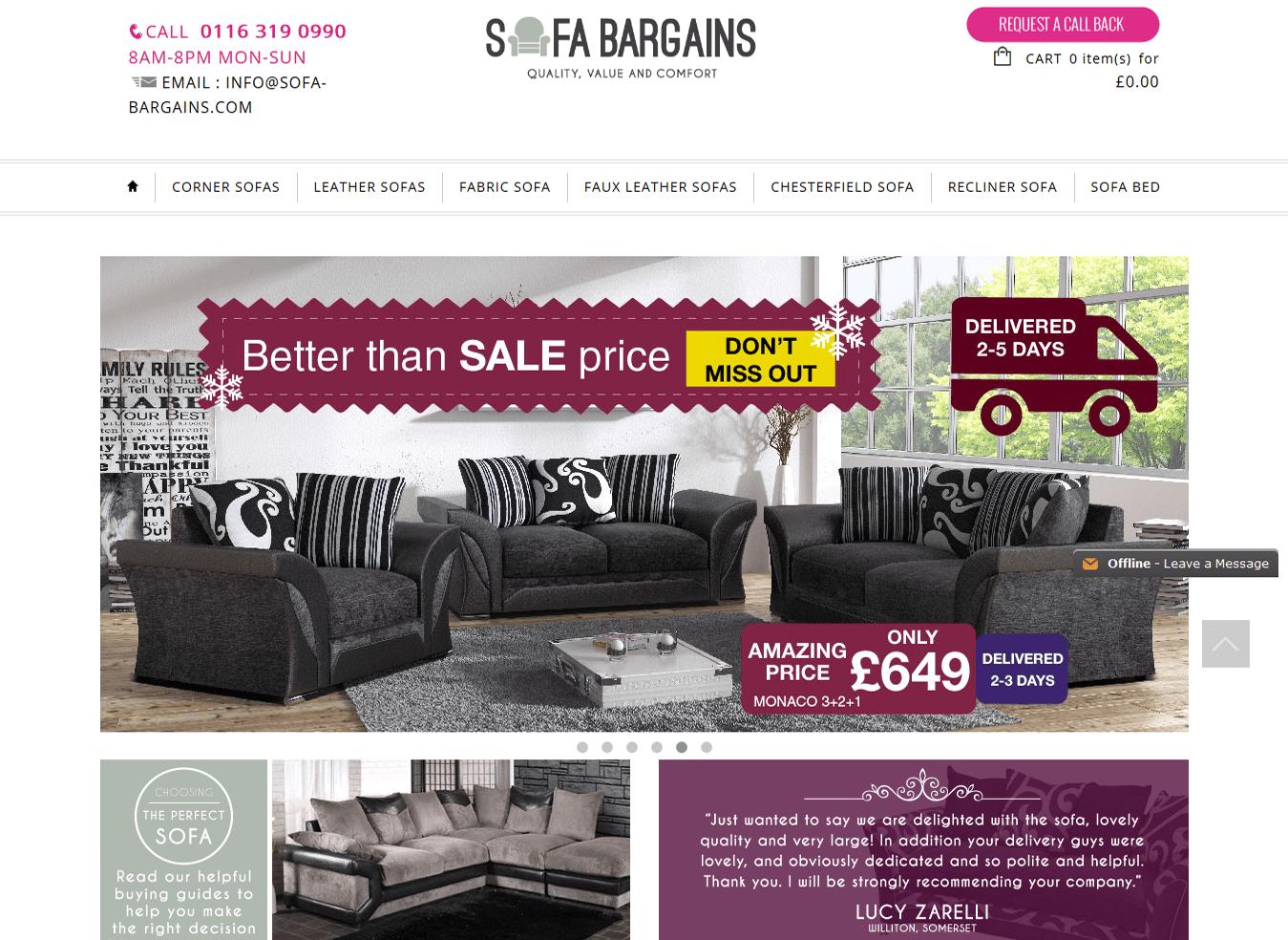Sofa-Bargains
