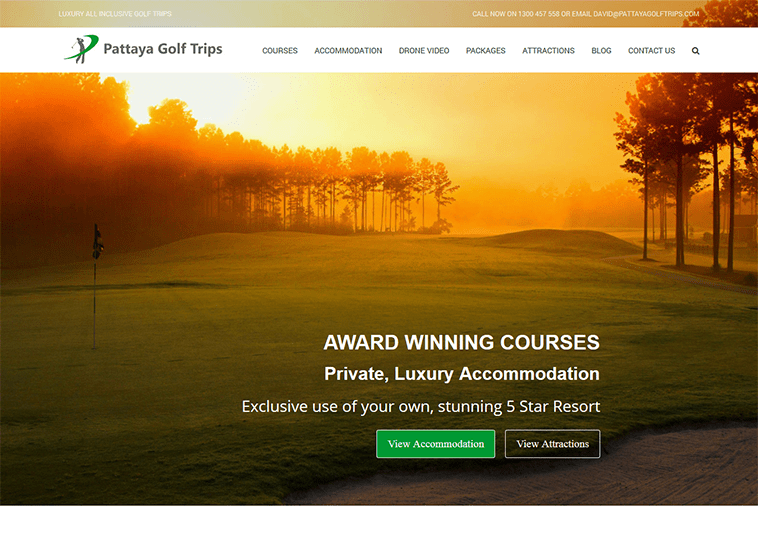 Pattaya Golf Trips